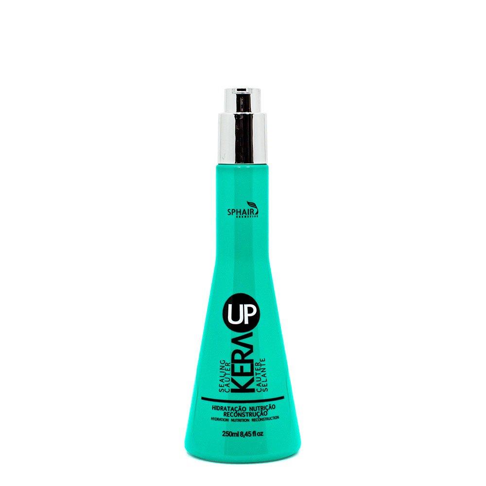 <b>Leave-in Cauter Selante Kera up</b> ideal para todos os tipos de cabelo. Ação hidratante para maciez intensa, facilita na escovação e nos cachos. Possui filtro solar e proteção térmica - 200ml