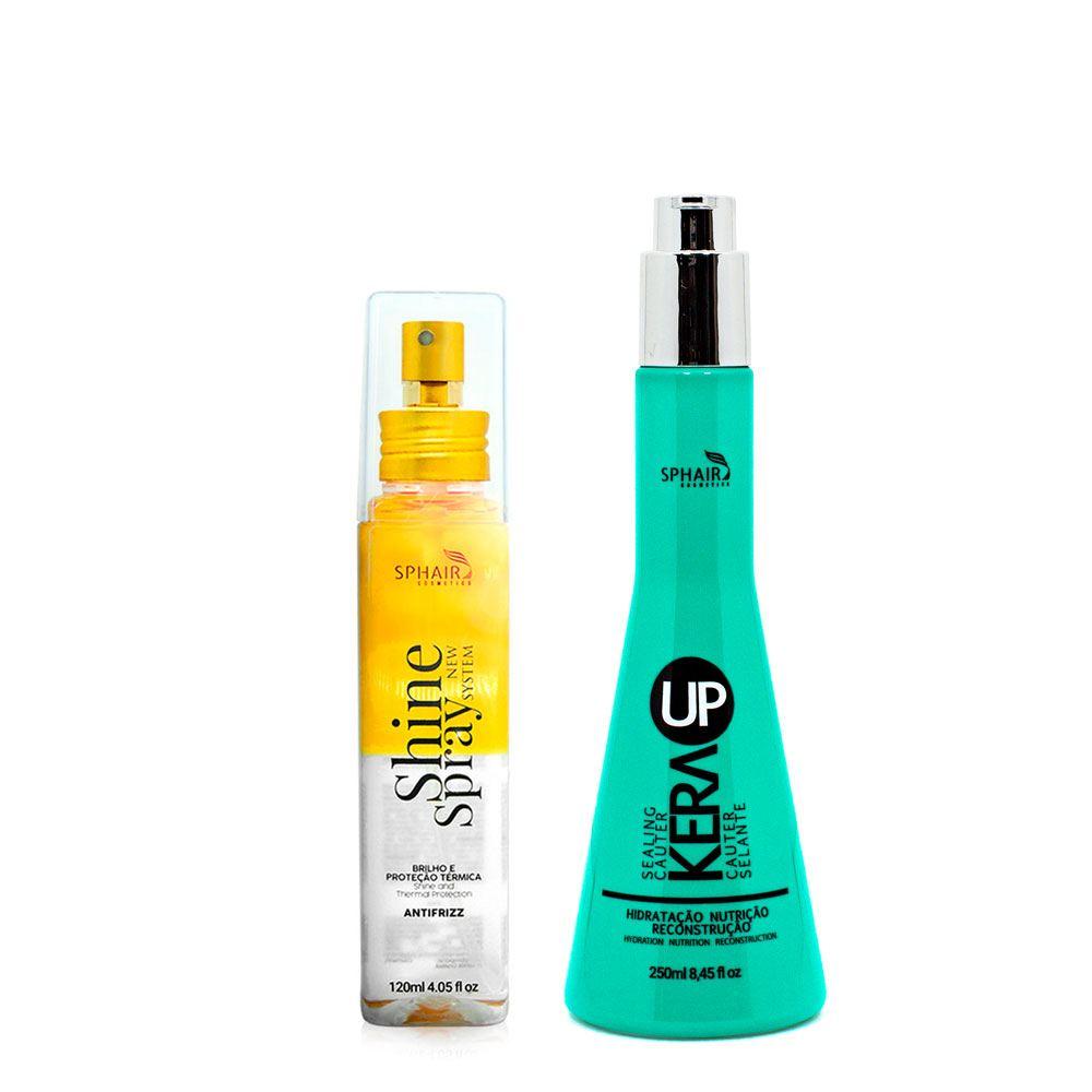 <b>Para cachos perfeitos, hidratados e com volume</b>: a combinação diária do leave in Cauter Selante e o Shine Spray garantem os cachos bem cuidados e macios