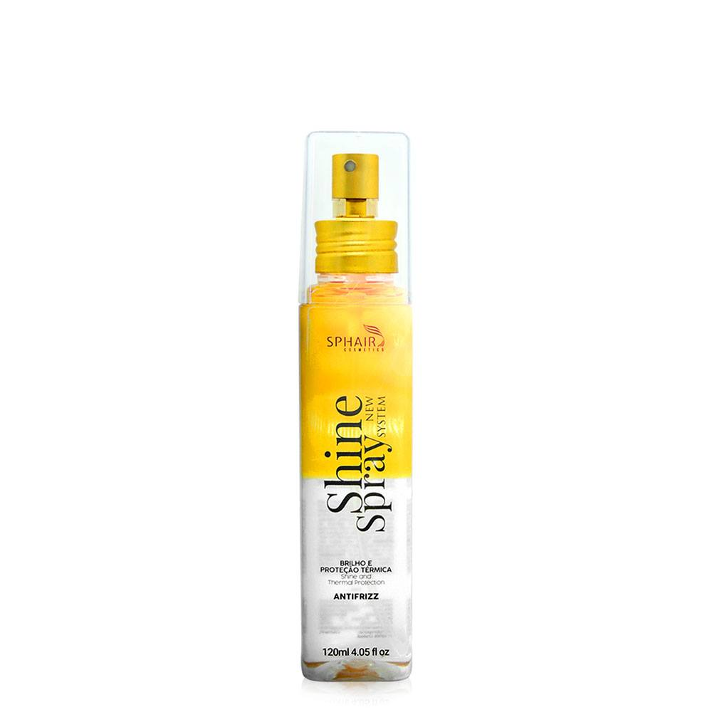 <b>Shine Spray</b> - Perfume para Cabelo: Com aroma inesquecível,  companheiro ideal no dia a dia, perfeito para proteger e dar aquele toque especial no fios. Proporciona brilho, leveza e é antifrizz