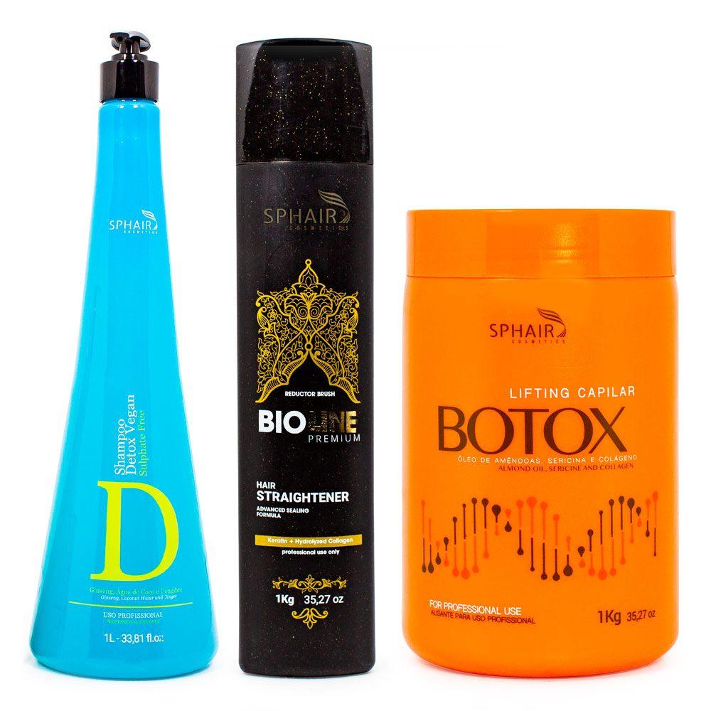 <b>Tenha o liso perfeito por mais tempo com esse tratamento completo</b>. O Shampoo limpa profundamente, abre a cutícula e prepara o cabelo para receber a progressiva e o lifting capilar