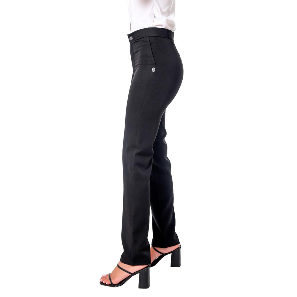 Calça feminina  social preta Blanco Raro