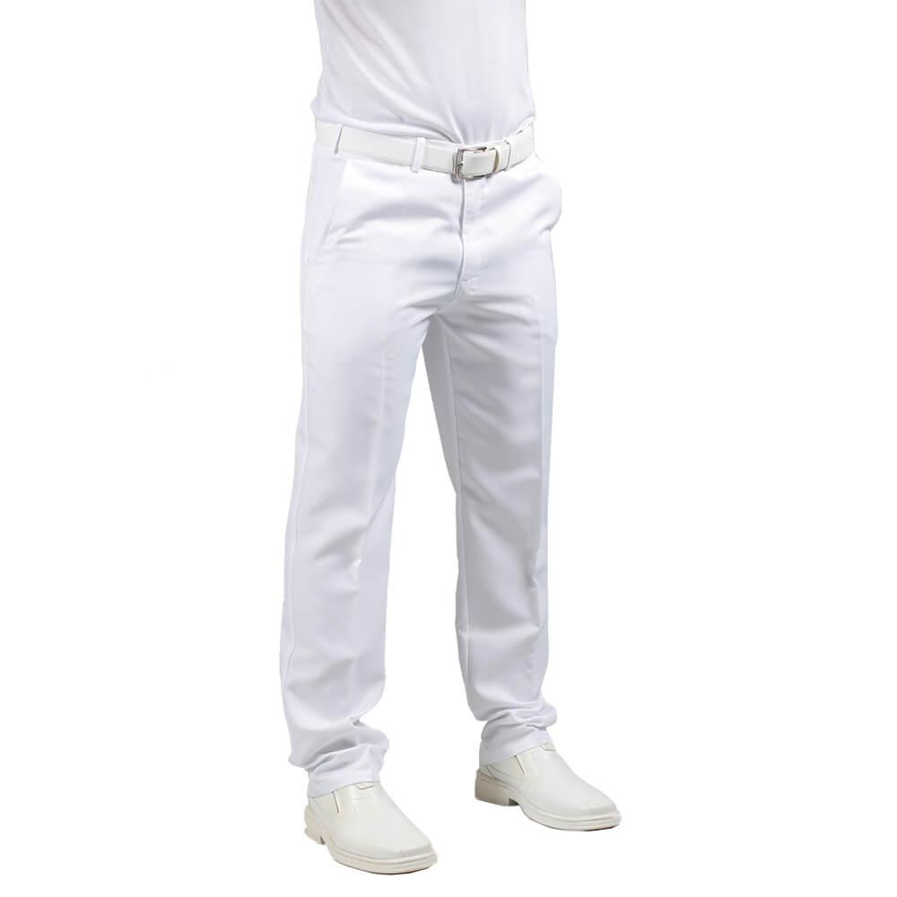 Calça social masculina BRANCA Blanco Raro