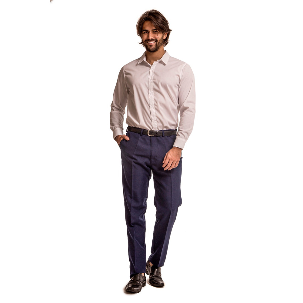 Calça social masculina MARINHO  Blanco Raro