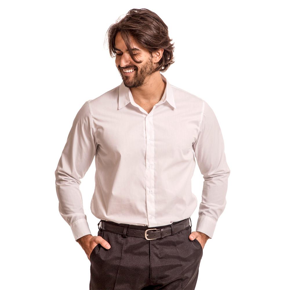 Calça social masculina PRETA Blanco Raro