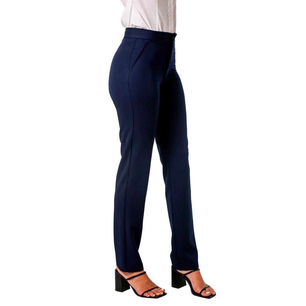 Conjunto terninho feminino Marinho 1 Colete l e 1 calça Blanco Raro