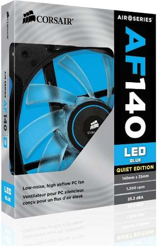 Cooler Cooler Corsai Air Series Af140 Led Blue Quiet Edition