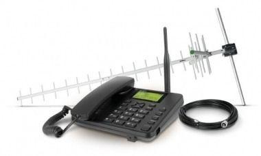 Celular Fixo Kit Gsm De Longo Alcance Cfa 5022 Dual Chip