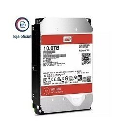 Hd Wd Sata 10tb 256mb 5400rpm Red 6gb/s W100efax