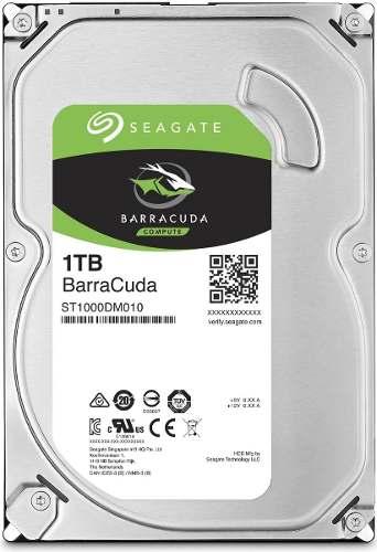 Hd Seagate Sata 3,5´ Barracuda 1tb 7200rpm St1000dm010