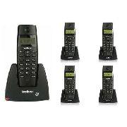 Telefone Sem Fio Intelbras Ts 40 Id - Identificador De Chama
