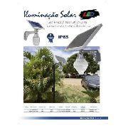 Kit/2 Luminária Solar Nitrolux Nl-s5w