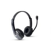 Fone de ouvido Maxprint com microfone - Preto/Cinza 608494
