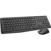 Kit Teclado E Mouse Wireless Logitech S/fio Mk235