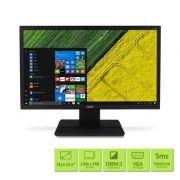 Monitor Acer LCD Widescreen 19.5´ VGA, 5 ms, HD, HDCP, VESA, Bivolt, Preto - V206HQL