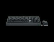Teclado e Mouse Logitech MK540 Advanced Sem Fio Multimídia Tecnologia Unifying Cinza ABNT2
