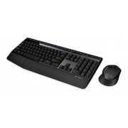 Teclado E Mouse Wireless Logitech Preto - Mk345