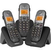Telefone Sem Fio Digital + 2 Ramais Ts 5123 Intelbrás