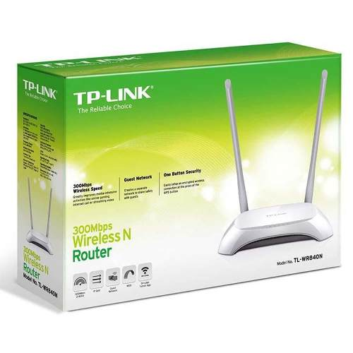 Roteador Wireless Tp-link Tl-wr840n N 300mbps 2 Antenas