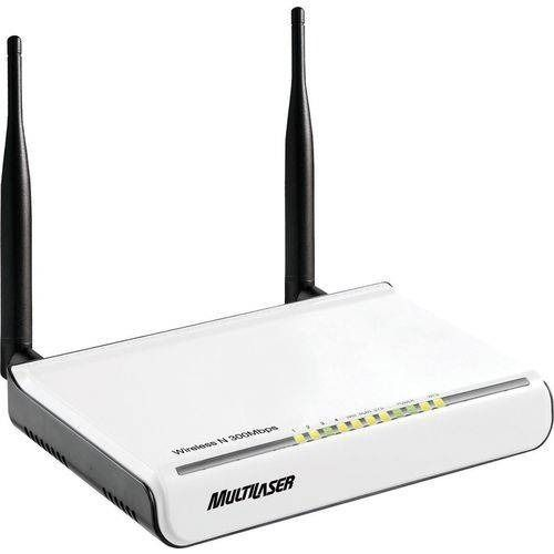 Roteador Wireless N Multilaser Com 2 Antenas 300mbps