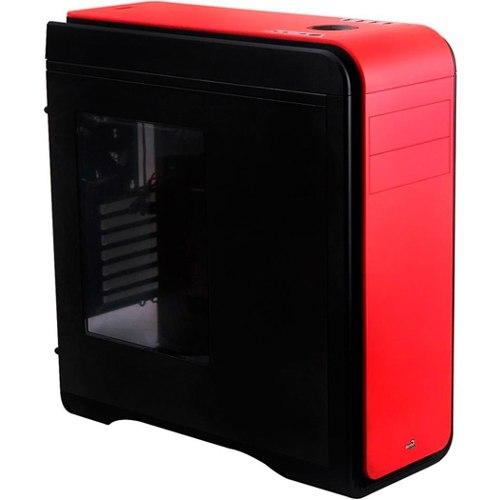 Gabinete Ds200 Window Vermelho Sem Fonte En52582 - Aerocool