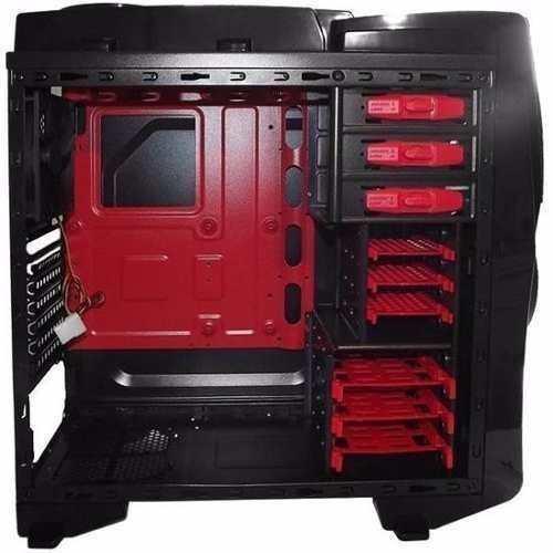 Gabinete X-trike Bi Turbo 636b Gamer Preto Frete Gratis