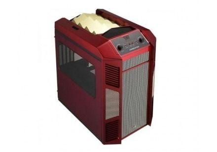 Gabinete Aerocool Xpredator Cube Rg Red, En55118