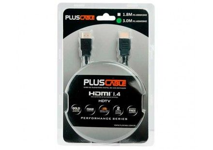 Cabo Hdmi Plus Cable Pc-hdmi1842 1,8 metros macho x macho