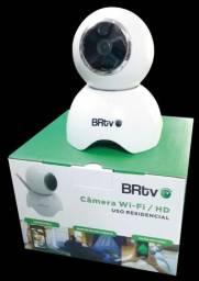 Câmera Wi-fi Hd Ip Brtv - Veja Tudo No Smartphone