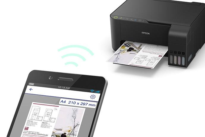 Impressora  Multifuncional Epson Ecotank L3150 Com Wifi
