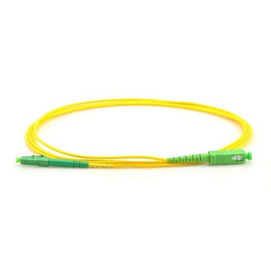 Kit 10 Un Cordão Óptico Simplex Sc-apc/sc-apc 2,5m Monomodo