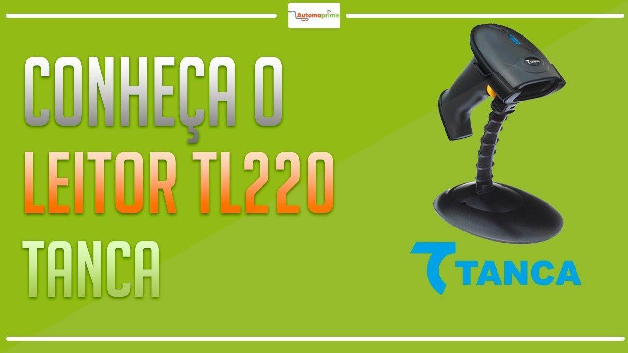 Leitor De Codigo Barras Laser Usb Com Suporte Tl-220 Tanca