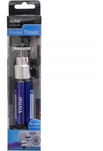 Mini Tripé De Mesa 15 Cm Vivitar Vivmpt100