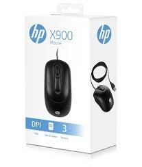 Mouse USB HP X900 Preto