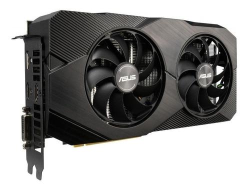 - Placa De Vídeo Nvidia Asus Dual Geforce Rtx 20 Series Rtx 2060 Dual-rtx2060-o6g-evo Oc Edition 6gb