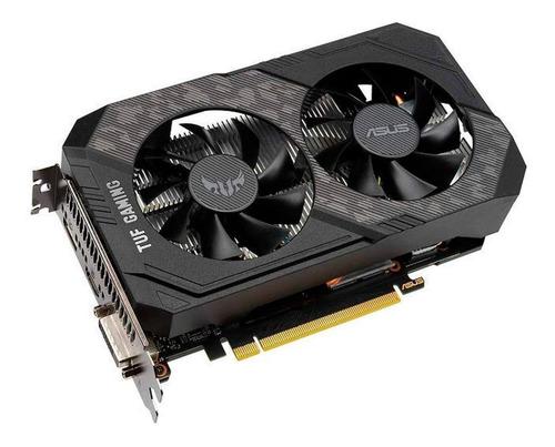 Placa De Vídeo Nvidia Asus Tuf Gaming Geforce Gtx 16 Series Gtx 1660 Super Tuf-gtx1660s-o6g-gaming Oc Edition 6gb
