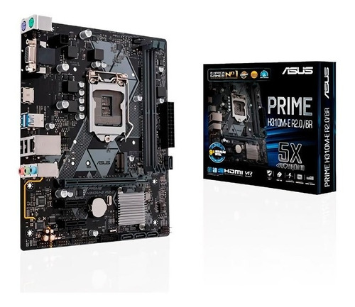 Placa Mae Asus Prime H310m-e R2.0br Ddr4 Lga1151 Intel H310