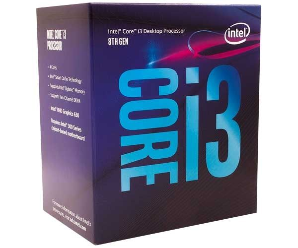 Processador Intel Core I3 8100 Coffee Lake 3.6ghz, Lga 1151