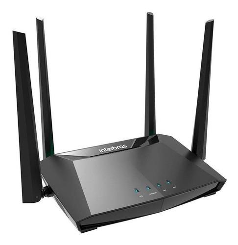 Roteador, Repetidor, Access Point Intelbras Action RG 1200 Preto 100v/240v