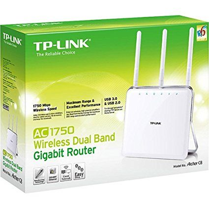 Roteador Tp-link Archer C8 Dual Band Wireless Ac 1750mbps
