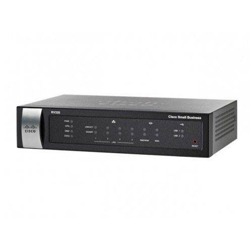 Roteador Vpn Gigabit Wan Cisco Rv320