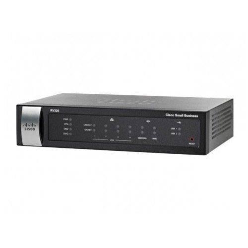 Roteador Vpn Gigabit Wan Cisco Rv320
