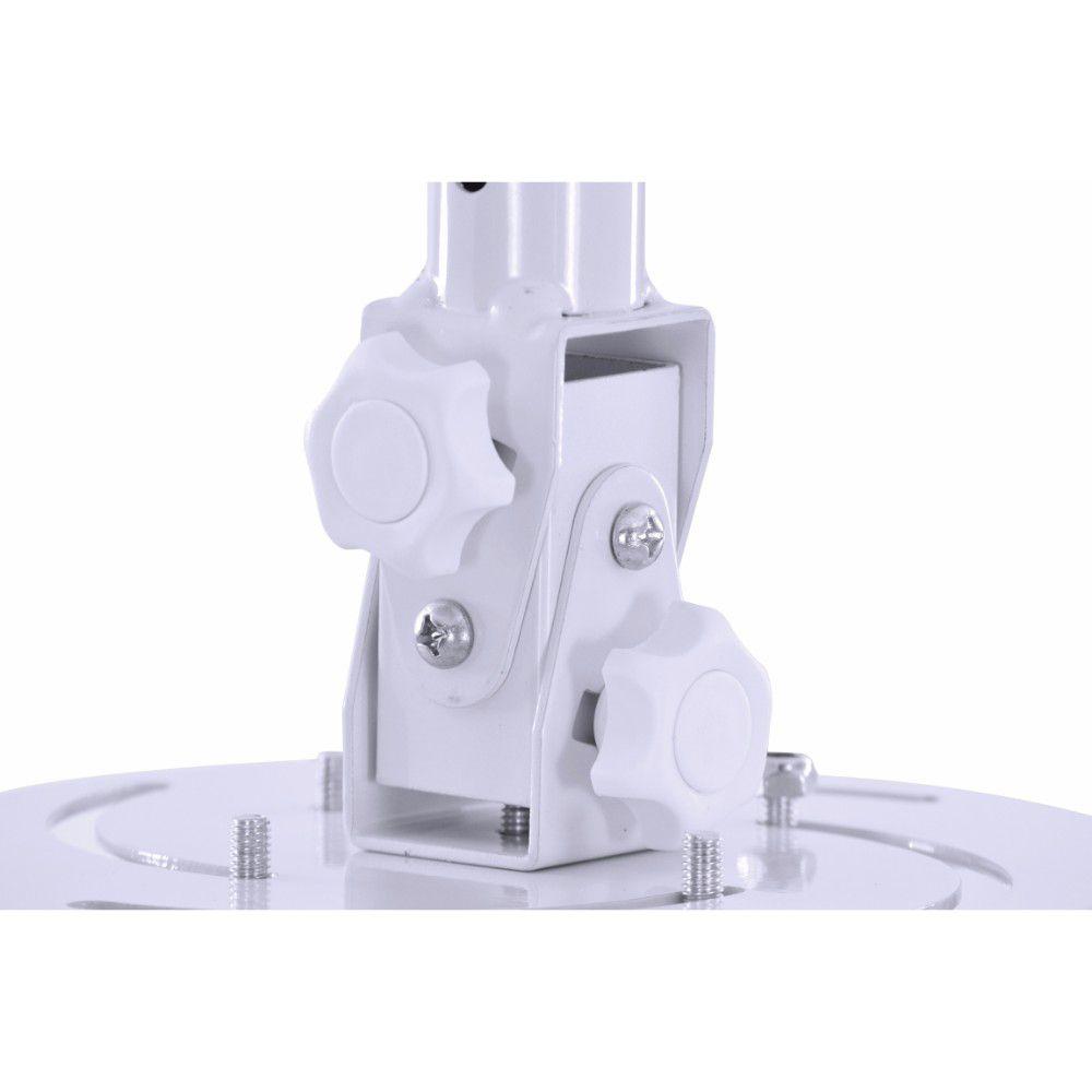 Suporte Projetor De Teto 360º Universal - Sp210a - Branco
