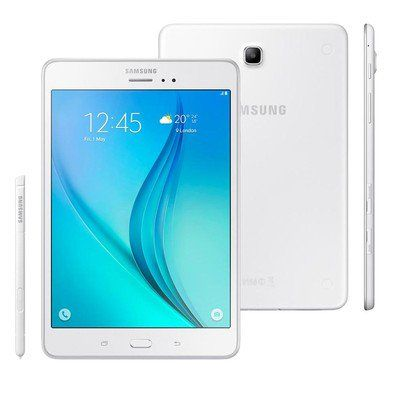 Tablet Samsung SM-P355M Galaxy TAB A 8.0´ Wi-Fi + 4G 16GB Android 5.0 Quad-Core Branco
