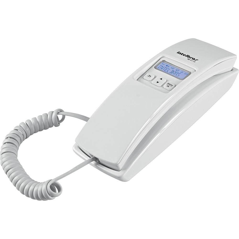 Telefone Com Fio Intelbras Tc2110 Com Identificação De Chama