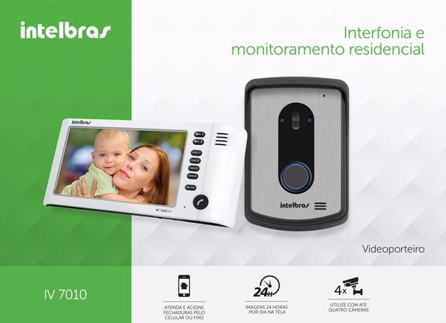 Vídeo Porteiro C/ Viva Voz Iv 7010hf Intelbras
