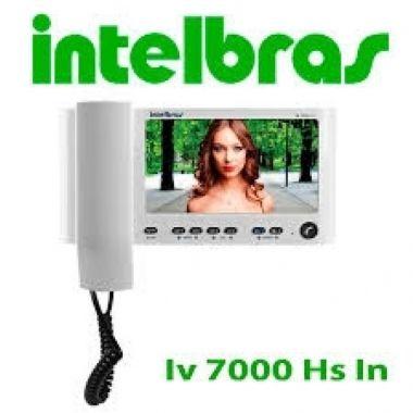 Vídeo Porteiro Lcd Iv 7000 Hs Tela Interna Intelbras
