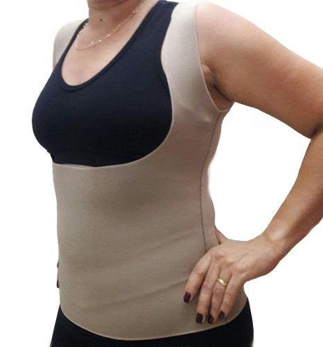 Cinta Modeladora Bege Queima Gordura Less Now T-shirt
