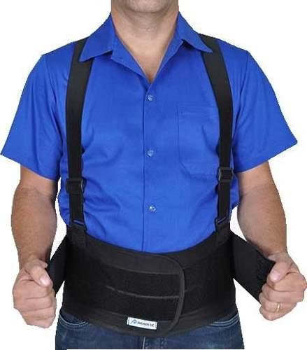 Cinturão Ergonômico Abdominal Lombar C/suspensório Promoção