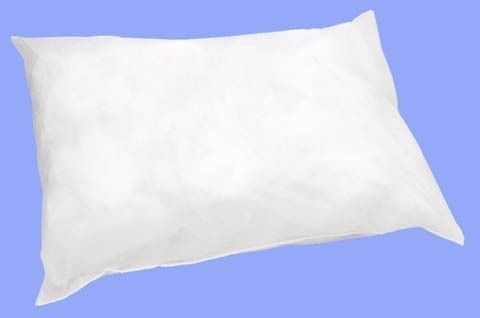 Fronhas Descartável Em Tnt Branco 50x70cm - Kit c/ 100 pçs