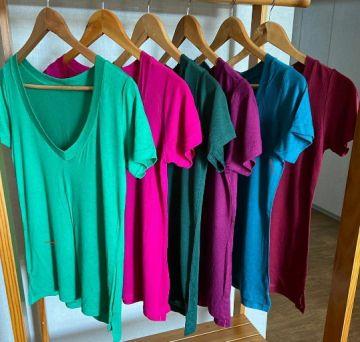 T shirt Manga Curta